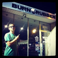 Photo taken at Burn Rubber Sneaker Boutique by Shane on 9/2/2012