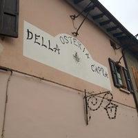 Photo taken at Osteria Della Capra Di Belli Romana E Angela by Cascina G. on 4/4/2012
