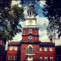 Photo taken at Independence Hall by Andrey K. on 8/22/2012
