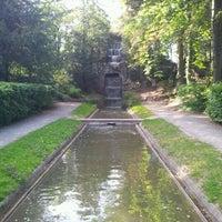 Photo taken at Parc de l'Orangerie by Vincent S. on 5/17/2012