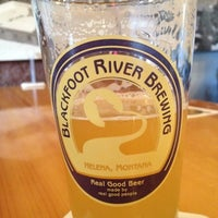 Photo taken at Blackfoot River Brewing Company by Sarah R. on 5/6/2012