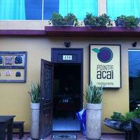 Photo taken at Point do Açaí by Marcelo F. on 8/8/2012