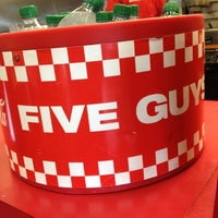Photo taken at Five Guys by Lenny C. on 8/4/2012