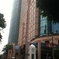 Photo taken at Marquis Reforma Hotel & Spa by El Peli M. on 5/10/2012
