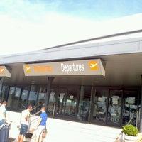 """Photo taken at Aeroporto di Roma Ciampino """"Giovan Battista Pastine"""" (CIA) by Mark B. on 9/1/2012"""