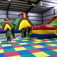 Photo taken at Jump'n Jungle by Holly W. on 5/8/2012