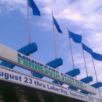 Photo taken at Minnesota State Fairgrounds by Rose R. on 8/23/2012