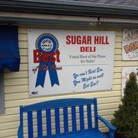 Photo taken at Sugar Hill Sub & Deli by ⚡ The G. Man ⚡ on 3/16/2012