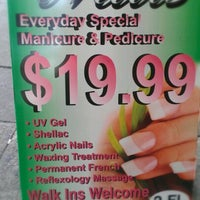 Photo taken at May's Nails by Shawnie on 9/2/2012