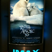 Photo taken at IMAX® Theater by Doreen @. on 4/17/2012