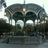 Photo taken at Parque San Telmo by Tina on 8/25/2012