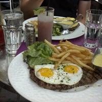 Photo taken at Bistro La Bonne by Kristian B. on 5/12/2012