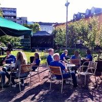 Photo taken at Kulttuuritehdas Korjaamo by Heidi E. on 6/8/2012