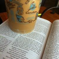 Photo taken at Caribou Coffee by Liz on 7/21/2012