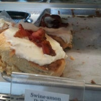 Photo taken at White Rabbit Bakery by James O. on 4/13/2012