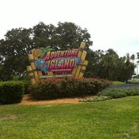 Photo taken at Adventure Island by Slink M. on 8/31/2012