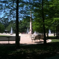 Photo taken at Hermann Park by Caitlin B. on 4/5/2012