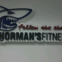 Photo taken at NORMAN'S FITNESS by Marcela K. on 4/10/2012
