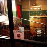 Photo taken at Watch City Brewing Co. by Nicholas V. on 9/7/2012