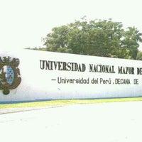 Photo taken at Universidad Nacional Mayor de San Marcos - UNMSM by braulio a. on 7/23/2012
