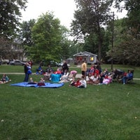Photo taken at Poland Park by Mike T. on 6/2/2012
