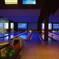 Photo taken at Bowlmor Cupertino by Sanjiv B. on 3/19/2012