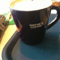 Photo taken at Wayne´s Coffee by Emma P. on 9/2/2012