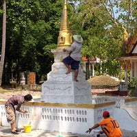 Photo taken at วัดแหลมสน by Pantip AUrajune S. on 3/25/2012