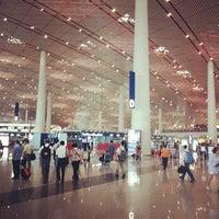Photo taken at Beijing Capital International Airport (PEK) by Yiwei M. on 6/24/2012