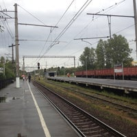Photo taken at Ж/Д станция Мельничный Ручей by Михаил К. on 9/4/2012