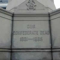 Photo taken at Confederate Memorial by David D. on 7/10/2012