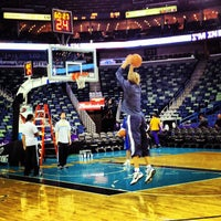 Photo taken at Smoothie King Center by Orin S. on 3/3/2012