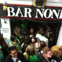 Photo taken at Bar None by Alex N. on 3/17/2012