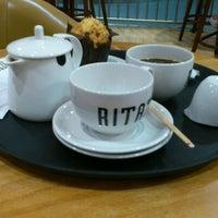 Photo taken at Caffè Ritazza by Janis D. on 7/14/2012