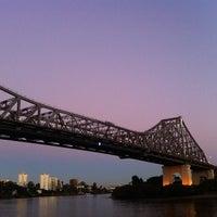 Photo taken at Story Bridge by Peter B. on 7/4/2012