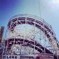 Photo taken at Luna Park by Chris B. on 4/19/2012