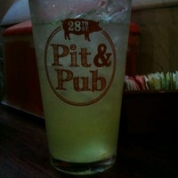 Photo taken at The 28th St. Pit & Pub by Heidi M. on 7/5/2012