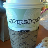 Photo taken at Big Apple Bagels by E n D on 6/10/2012