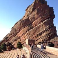 Photo taken at Red Rocks Park & Amphitheatre by Bret B. on 7/13/2012