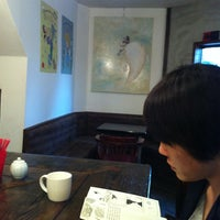 Photo taken at CAFE SANTIAGO by Seol seon Y. on 4/11/2012