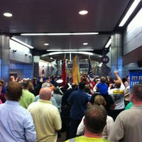 Photo taken at Gate A6 by Michael R. on 4/27/2012