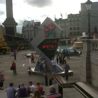Photo taken at London 2012 OMEGA Countdown Clock by RyKas. on 8/25/2012