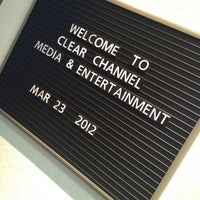 Photo taken at Clear channel radio by Shawn H. on 3/23/2012