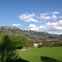 Photo taken at Rasmushof Hotel Kitzbühel by Matthew K. on 5/4/2012
