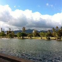 Photo taken at Waikiki Banyan Parking by Frank on 6/23/2012