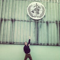 Photo taken at World Health Organization - Main Building by Ondra S. on 9/13/2012