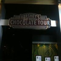 Photo taken at Hershey's Chocolate World by Luke R. on 7/23/2012