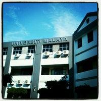 Photo taken at Universiti Malaya (University of Malaya) by Ejardkethot I. on 5/12/2012