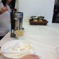 Photo taken at Mediacom Bistro by Veena R. on 3/14/2012