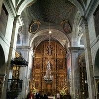 Photo taken at Colegiata de Pravia by David E. on 5/26/2012